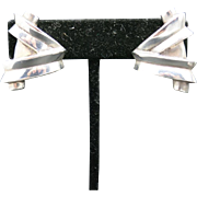 Patricia von Musulin Earrings Sterling silver Clip on