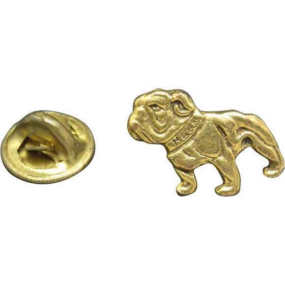 mack truck logo pin bulldog pie tack from unsignedbeauty