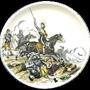 Henri IV Creil et Montereau Plates French Military Victories