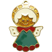 Wallace Silversmiths Christmas Ornament Angel Cookie Series
