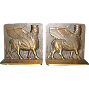 Assyrian Sphinx Bookends