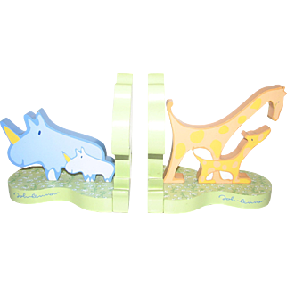 Yoko Ono Animals Bookends