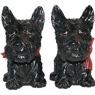Scottie & Bow Bookends