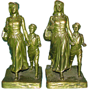 Pioneer Woman Bookends by Jennings Brothers