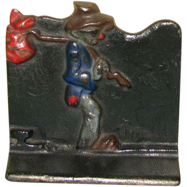 Hobo Bookends Attributed to Wilton