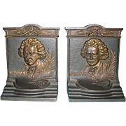 Beethoven Bookends by Bradley & Hubbard