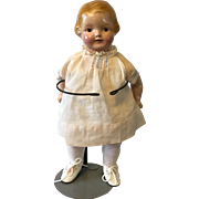 Composition Girl Toddler doll 1921