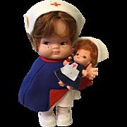 1960's Nurse Doll