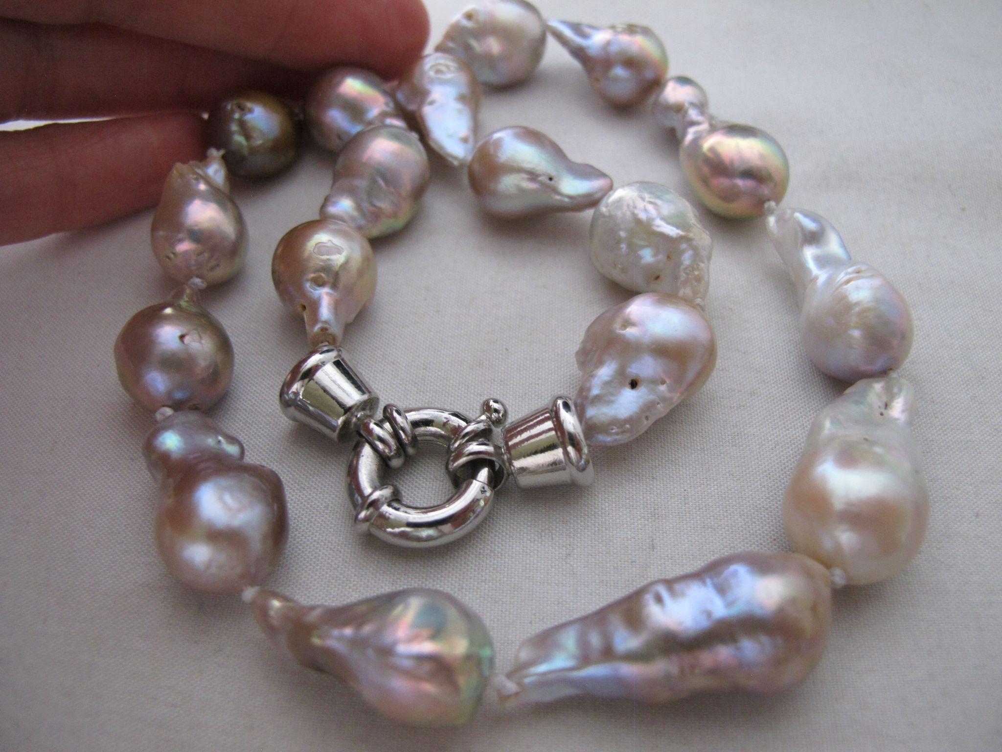 baroque art irregular pearl Hengsheng freshwater baroque pearl choker necklace irregular pearl leather cord bead dark peach large hole baroque freshwater pearls have baroque pearl.