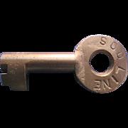 Vintage Soo Line Rail Road Railroad Key