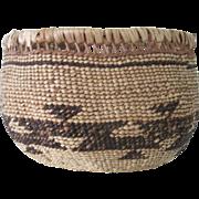Antique Northern California Southern Oregon Indian Basket Yurok/Hupa/Karok/Tututni