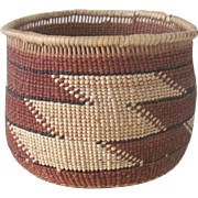 Antique Northern California Southern Oregon Indian Basket Yurok/Hupa/Karok/Tututni