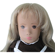 "Reserved for Val! Vintage German Gotz Sasha Doll Rare First Series ""No Nose"" Mint c1965"