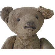 Antique Primitive Teddy Bear Doll c1915-20
