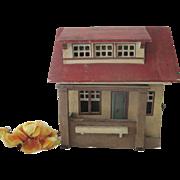 Vintage German Gottschalk Dollhouse c1920