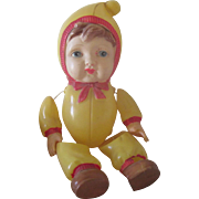Vintage Occupied Japanese Celluloid Baby Doll C1940's