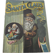 """Antique """"Santa Claus and His Works"""" Children's Christmas Book Dated 1888"""