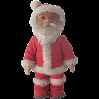 Vintage Steiff Felt and Rubber Christmas Santa Claus Doll c1950