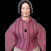 Antique Rare KPM China Shoulderhead Lady  without Bun