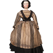 10inch Tall Antique Autoperipatikos Walking Doll