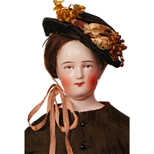 On Hold for S. Early Schlaggenwald China Head Doll in Beautiful Outfit