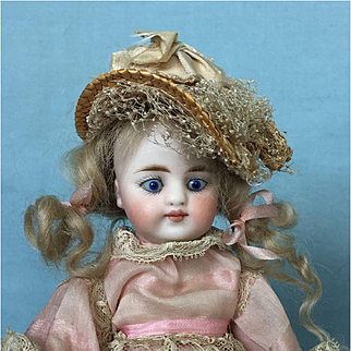 Antique All-Bisque Simon and Halbig Doll
