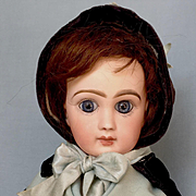 Antique French Bisque Bebe Louvre by Jumeau, size 4, circa 1892