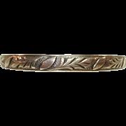 Vintage Danecraft Felch Co. Sterling Silver Bangle Bracelet