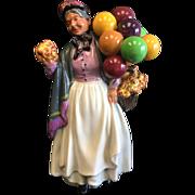 "Vintage Royal Doulton Figurine ""Biddy Pennyfarthing"" HN1843"