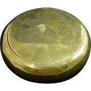 Deakin & Francis English Sterling silver Pill Box