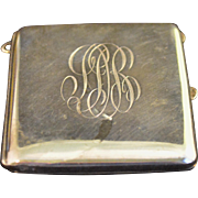 Vintage Sterling Silver Card Case
