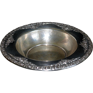 Vintage Wallace Sterling Silver Normandie Bowl