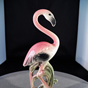 Vintage California Pottery Company Bold Flamingo Figurine MINT
