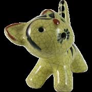 Walter Bosse Karlsruhe Majolica Ceramic Cat Germany