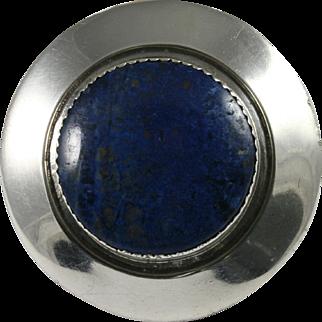 Frank Patania Sr. Sterling Lapis Lazuli Pin Pendant Thunderbird Shop
