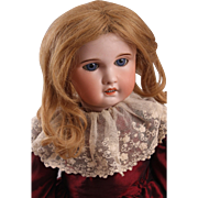 "Adorable 21"" S. F. B. J. French Bisque Bebe Doll"