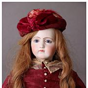 """Rare Antique 23"""" Jumeau Portrait Fashion Poupee"""