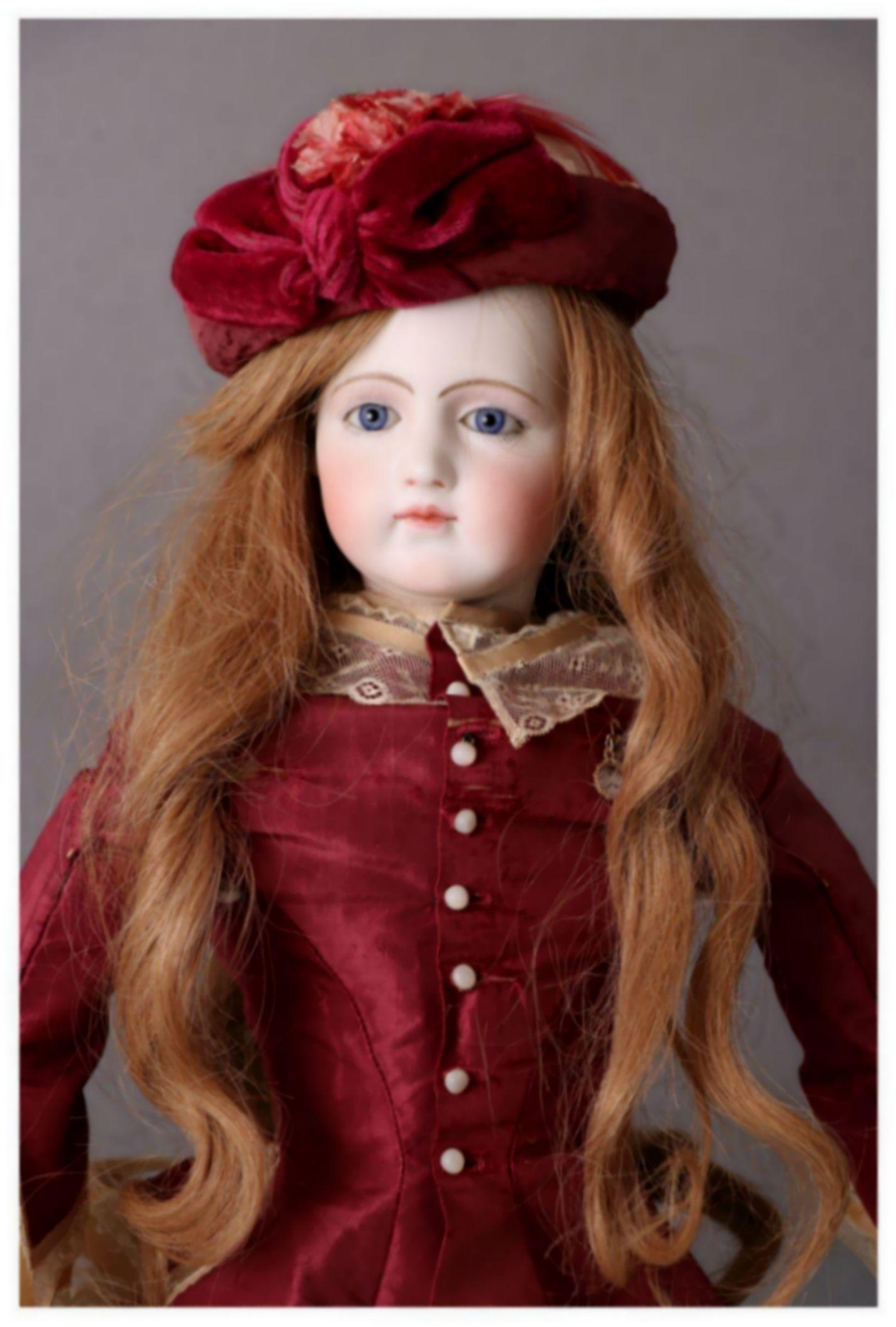 Rare antique 23 jumeau portrait fashion poupee from for Valuable antiques and collectibles