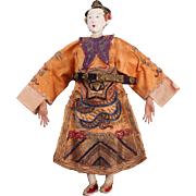 Exquisite Antique Chinese Opera Doll, Female, circa late 1800s ~ early 1900s