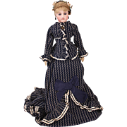 "Adorable 20"" Early Jumeau Portrait Fashion Poupee"
