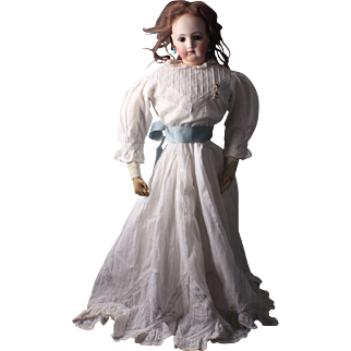 "Lovely 21"" Jumeau Portrait Fashion Poupee, Circa 1875"
