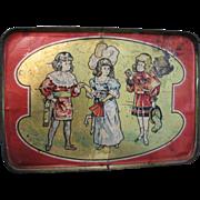 Antique Toy Tray Leo Schlesinger Love Letter 1912