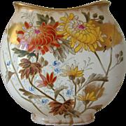 Antique Royal Bonn Vase Chrysanthemum Aesthetic