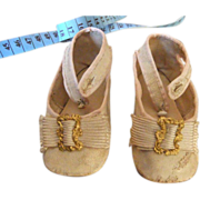 BRU Antique french Bebe doll shoes