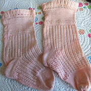 Antique sock pink jumeau