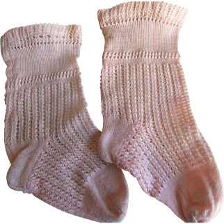 Antique sock pink jumeau