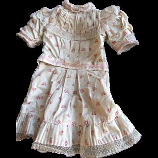 Antique /original dress jumeau size 12