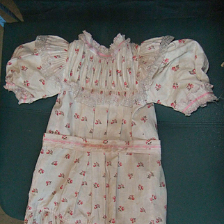 An original factory dress