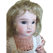 20 Antique French All original bebe Doll by Steiner, figure A