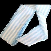 Antique ribbon taffetas blue